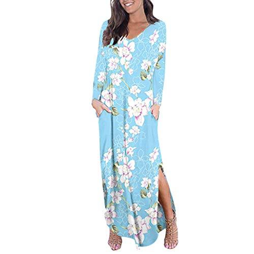 Robe de Soiree,Daysing Mode FéMinine Imprimé Floral Manches Courtes Shouder Flare Slash Neck Casual Dress Costume De SoiréE Moulante Demi-Longueur AjustéE Robe De MariéE à Fleurs Fleur BohèMe