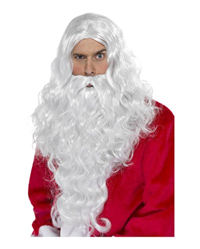 Santa Claus Perücke & Bart