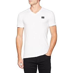 Antony Morato Sport Scollo V Placchetta, Camiseta para Hombre