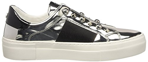 Cult Damen Love Low 1438 Niedrige Sneaker Multicolore (Silver/Black)
