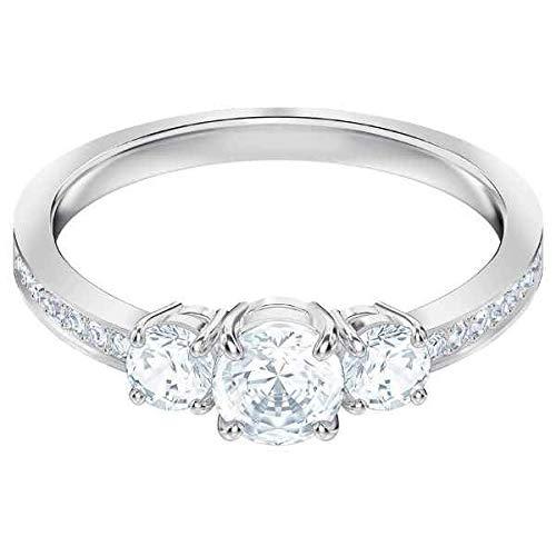 Swarovski Damen-Ringe Edelstahl Kristall \'- Ringgröße 52 5448901