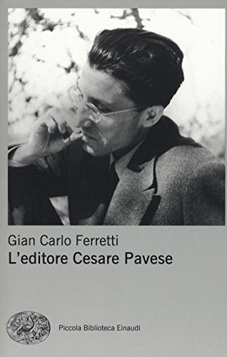 L'editore Cesare Pavese