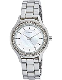(CERTIFIED REFURBISHED) DKNY Analog Silver Dial Women's Watch - NY8134#CR