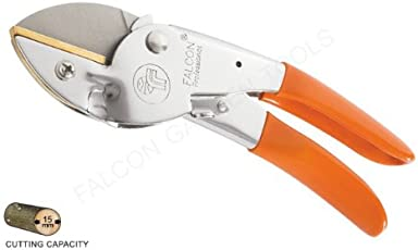 Falcon 225mm Professional Pruning Secateurs with PVC Grip Steel Handle