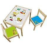Limmaland Möbelaufkleber Straßen - passend für IKEA LÄTT Kindertisch - Design byGraziela - Möbel Nicht inklusive