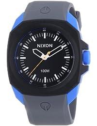 Nixon  3927 - Reloj de cuarzo para hombre, con correa de plástico, color gris