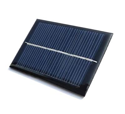 Technical Hut 6V 80mA Mini Solar Panel for DIY Projects