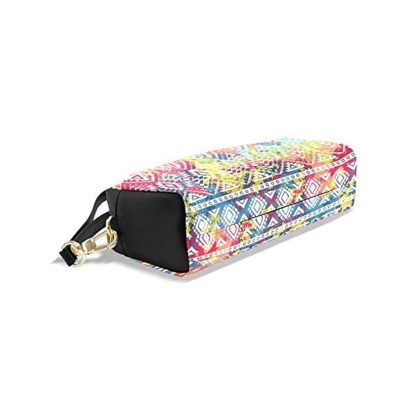 Estuche estuche con cremallera grande bolsa de maquillaje brillante patrón étnico bolso de lápices caja para niños y…
