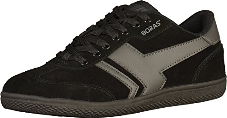 Boras Socca   Herren Halbschuhe   Schwarz Schuhe in übergrößen