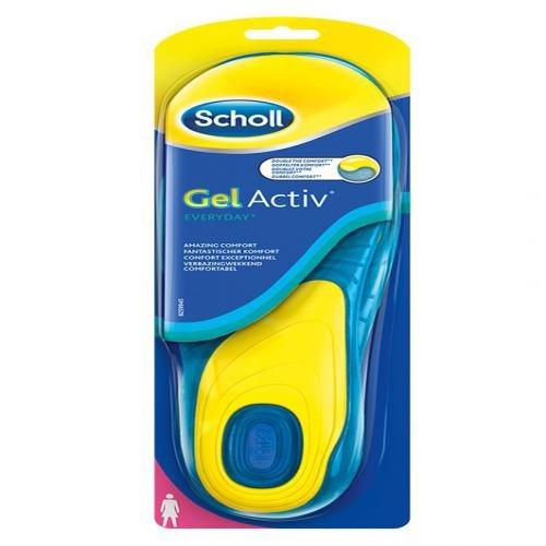 SCHOLL GelActiv Einlegesohlen Everyday women 2 St (= 1 Paar)