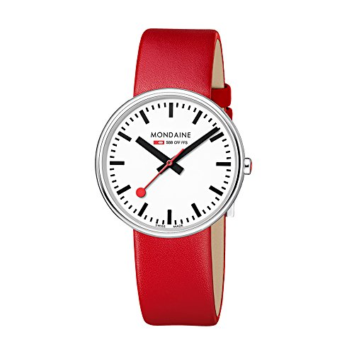 Mondaine Womens Quartz Watch, Analogue Classic Display and Leather Strap MSX.3511B.LC