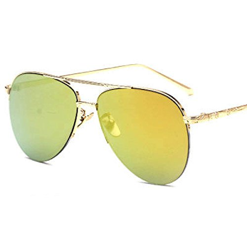 Metall Half Frame Hanging Wire Sonnenbrille Männer Avantgarde Sonnenbrille Sonnenbrille,A5