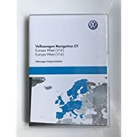 2017 VW SKODA SEAT RNS510/810 SAT NAV DISC NAVIGATION MAP UPDATE DVD WESTERN EUROPE