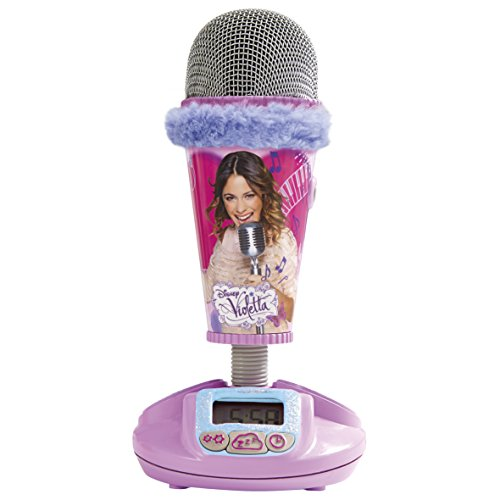 Disney - Violetta, Microphone Alarm Clock, color rosa (Worlds Apart 272VIO)
