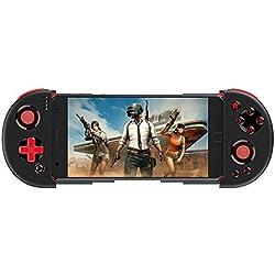JIN Bluetooth Gamepad Selvaggia Jeu d'action Traite Mangant Poulet Contrôleur Bouton Turbo avec Télescopique de 6,2 Pouces Compatible avec Système Android/Windows/Console de Jeu PS3