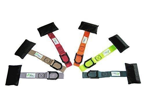 eaglefit® Türanker - die sichere, variable Türbefestigung für SlingTrainer - mit Karabiner, schwarz