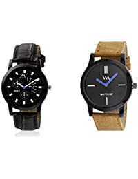 Watch Me Gift Combo Set For Him/Watches For Men/Watches For Boys (watches 3 Combo/watches 2 Combo) WMC-002-BR-WMC... - B0778MH7Z5