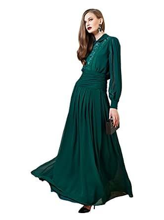 ISABELA GARCIA - Robe - Femme Vert Esmeralda L