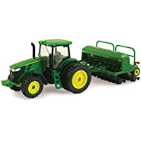 Ertl Collectibles John Deere 7215R Tractor with Grain Drill by Ertl Collectibles