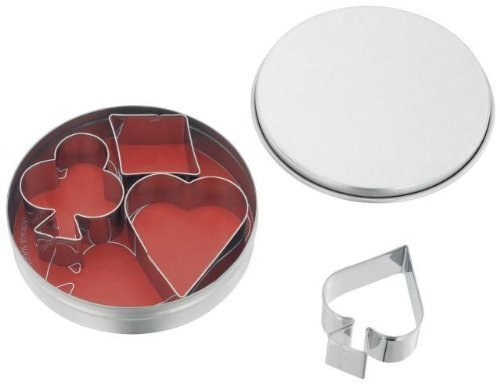 Set of Playing Card Cookie Cutters by Judge