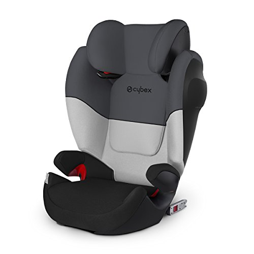 Cybex Silver Solution M-fix SL, Autositz Gruppe 2/3 (15-36 kg), mit Isofix, Gray Rabbit