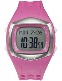 Solus Unisex Digital Watch with LCD Dial Digital Display and Pink Plastic or PU Strap SL-100-005