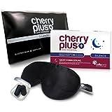 Cherry PLUS® Silence Paket-Angebot (1-Monatspackung + Schlafmaske mit Ohrstöpsel)