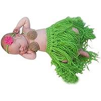 Koly Bebé 0-3 Meses Ganchillo ropa de punto apoyo de la fotografía