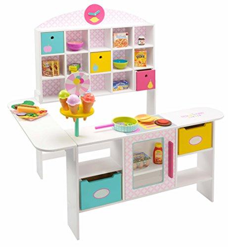 *beluga Spielwaren 30890 Kaufladen Fresh and Yummy, Spiel, Rosa*