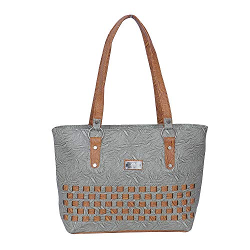 JANTA Hand bags for womens | stylish trendy Hand bags for girls/women(Grey)