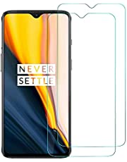 Case U Full Glue Tempered Glass for OnePlus 7 (Black) Edge to Edge Full Screen Coverage with Easy Installation kit