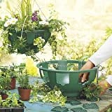 """5 x 14"""" Easy Fill Hanging Baskets (Green)"""