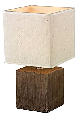 Tischleuchte WANDA TL Holzmuster