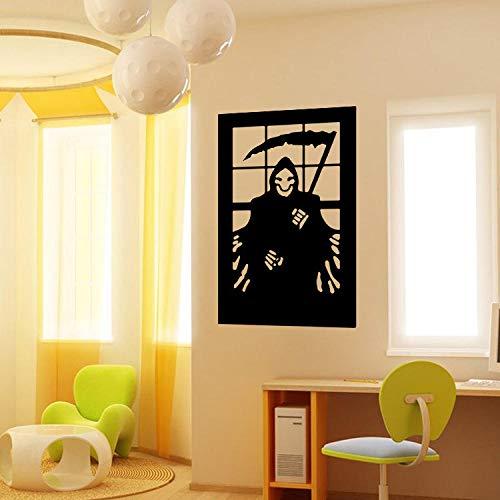 Black Shop Hotel Café Bekleidungsgeschäft Schaufenster Wohnzimmer Esszimmer Schlafzimmer Hintergrund Dekoration Geschnitzte Halloween 42X60 cm ()