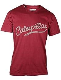 Caterpillar Heritage Script - T-shirt à manches courtes 100% coton - Homme