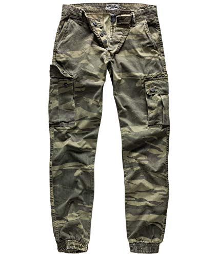 Surplus Bad Boys Pants, Green-camo, XXL - Surplus Camo