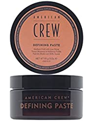 AMERICAN CREW DEFINING PASTE Cire Fixation Souple Effet Mat, 85ml