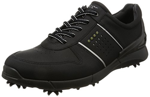 Ecco Men'S Base One, Chaussures de Golf Homme, Schwarz (1001BLACK), 44 EU