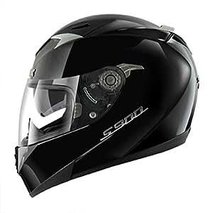shark casque moto s900c prime taille m couleur noir brillant. Black Bedroom Furniture Sets. Home Design Ideas