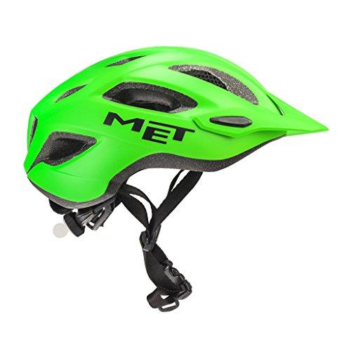 MET Fahrradhelm m3hm109m0ve1, M, grün, Unisex