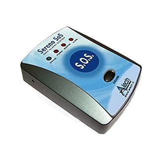 Pflegeruf-Set mit (Not-) Ruf an Handy oder Telefon – über Funk-Armbandsender und Mobilfunknetz