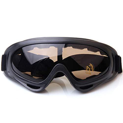 WENDAN Brille Skifahren Reiten Windschutzbrillen für den Winter im Off-Road-Bereich, staubdichte Sonnenbrillen, D
