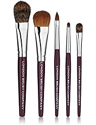 LONDON BRUSH COMPANY Coffret de Pinceaux de Maquillage Classic Travel