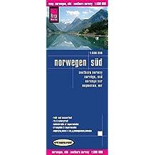 Reise Know-How Landkarte Norwegen Süd (1:500.000): world mapping project