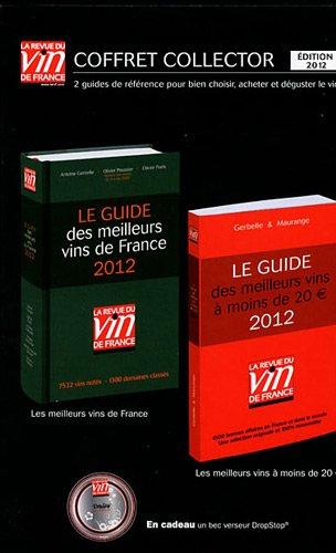 Coffret collector La revue du vin de France : Le guide des meilleurs vins de France 2012 ; Le guides des meilleurs vins à moins de 20 euros 2012