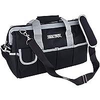 Bolsa de herramientas 40x 20x 25cm Nylon negro vacío bolsa Bolsillo de Cremallera