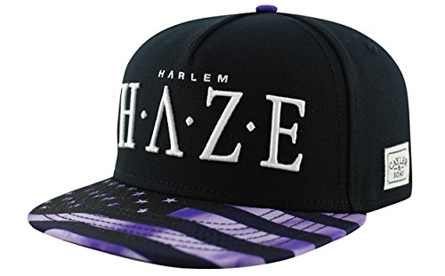 Cayler And Sons - Casquette Snapback Homme Harlem Haze Cap - Black / Purple / White