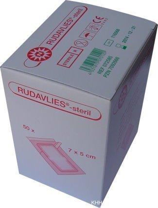 Rudavlies Steril Wundschnellverband 7 x 5 Centimeter (cm) 50 Stück