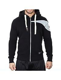 SMILODOX Men's Slim Fit Hooded Jacket