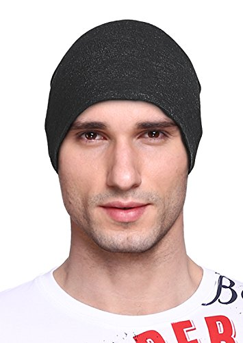 Big Tree Cotton Beanie and Skull Cap for Summer and Winter for Men, Women, Unisex (Dark Grey)